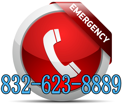 Emergency? Call us 24/7 at 832-623-8889