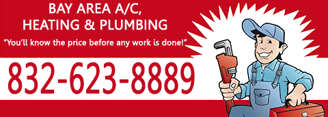 Bay Area knows you never know when a plumbing emergency will happen so that's why we have emergency plumbing services for our Alvin and our service areas, 24/7.